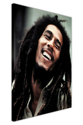Iconic Bob Marley Colour Photo Framed Prints Canvas Pictures Wall Art Poster