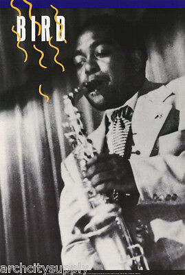 POSTER : MUSIC : JAZZ - CHARLIE PARKER - BIRD -  FREE SHIPPING !  #1667   LC11 Q