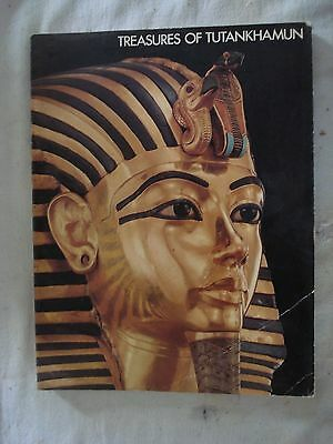 Treasures of Tutankhamun. Softcover book. Exhibition program 1976