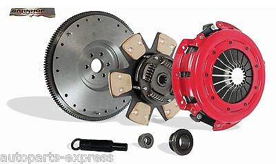 Clutch Kit Stage 3 And Flywheel Bahnhof For 86-95 Ford Mustang Mercurycapri 5.0L