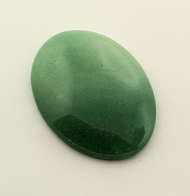 Aventurine 25x18mm Oval Cabochon 15.56ct (One of a Kind Stone)