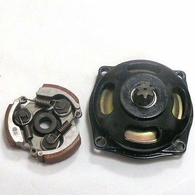 Clutch and Clutch Bell Housing 6 Tooth or 7 Tooth for Pocket Mini Moto Dirt Bike