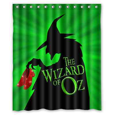 Brand New The Wizard Of Oz Shower Curtain 60 X 72 Inch