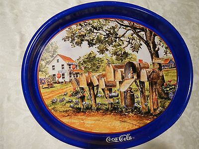 Coca Cola Tray 1995 signed Jeanne Mack