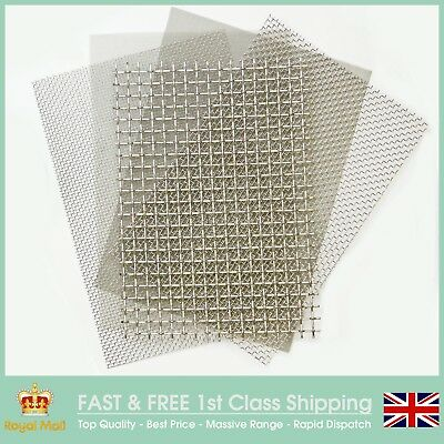 MEGA MESH LISTING - Stainless Steel Woven Wire Mesh - ALL Standard Options Here