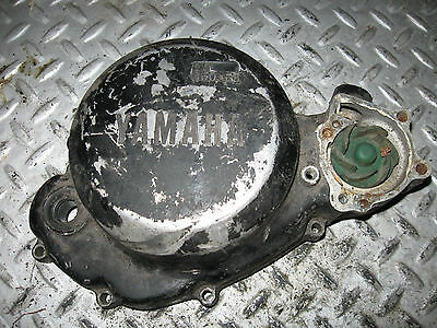 1982 Yamaha Yz 80 Clutch Cover + Water Pump Vmx Free Shipping To U,s. And Canada