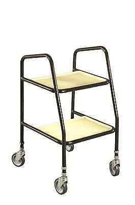 Adjustable Walking Wheeled Trolley with Plastic Shelves DR275