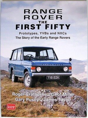 Range Rover The First Fifty Car Book Isbn:9781783180028