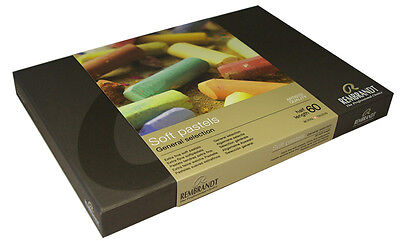 Rembrandt Artists Half Size Soft Pastels Set of 60