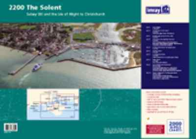 IMRAY CHART PACK 2200 THE SOLENT - Latest 2015 Edition - NEW - quick despatch