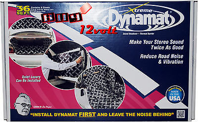 Dynamat 10455 Xtreme Bulk Pack 9 Pieces of 18″x 32″ (457mm x 812mm)