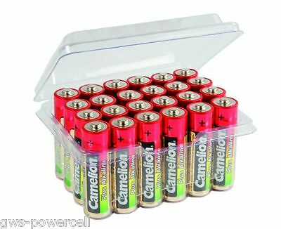 24 x Camelion AA Batterie LR6 1,5V Plus Alkaline High Energy in Box lose