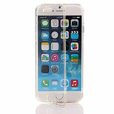 Wallet Flip TPU Silicone Gel Front and Back Case Cover for Apple iPhone 6 / 6s