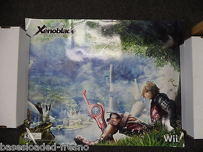 "Very Rare Xenoblade Chronicles Poster SDCC Wonder Con 22"" by 28"" #3 Wii"