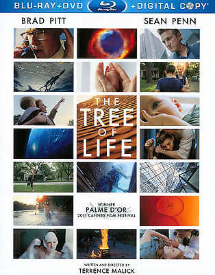The Tree of Life (Blu-ray/DVD, 2011, 2-Disc Set, Includes Digital Copy)