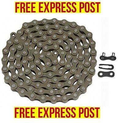 KMC Z410 Chain 1/2 x1/8 116L Shimano Sram Single Speed Fixie BMX EXPRESS POST