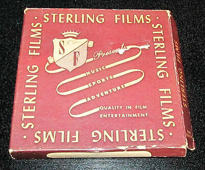 Vintage Sterling Films 8 mm Home Movies Bears Music Sports Adventure