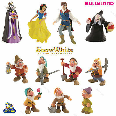 Disney Snow White and The Seven Dwarfs Figure Figurine Toy Cake Topper Bullyland