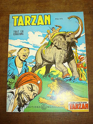 TARZAN n°40-Collection Tarzan- Editions Mondiales Del Duca Paris