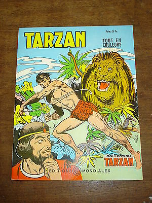 TARZAN n°42-Collection Tarzan- Editions Mondiales Del Duca Paris