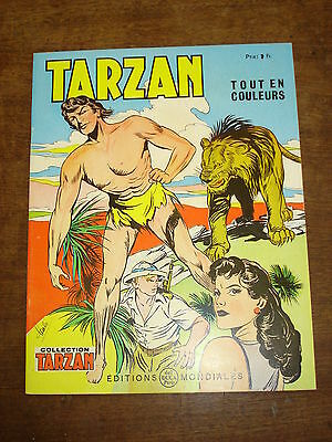 TARZAN n°46-Collection Tarzan- Editions Mondiales Del Duca Paris