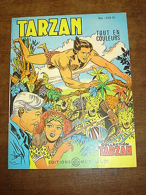 TARZAN n°53-Collection Tarzan- Editions Mondiales Del Duca Paris