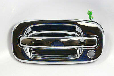 CHROME Front Left Outside Door Handle for 99-07 SILVERADO AVALANCHE & SIERRA