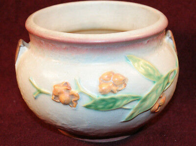 Collectible Roseville Mauve/Gray Bittersweet Jardiniere - Signed