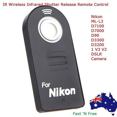 IR Wireless Infrared Shutter Release Remote Control for Nikon DSLR Camera ML-L3