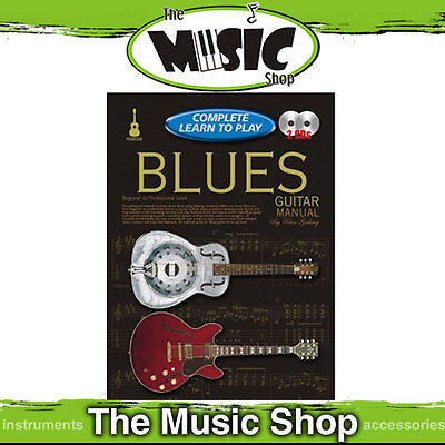 Progressive Complete Learn to Play Blues Guitar Manual - 224 Page Book + 2 CD's