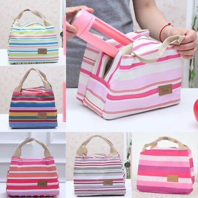 Lady Thermal Portable Insulated Thermal Cooler Lunch Box Carry Tote Storage Bag