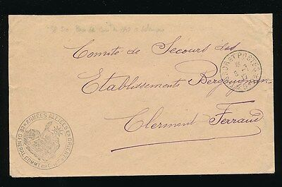 BULGARIA 1917 FRENCH ARMY POST ENVELOPE MILITARY ALLIES in ORIENT