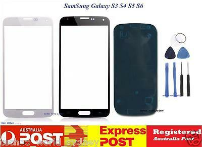Outer Front Glass Screen Replacement Frame Samsung Galaxy S7 S5 S4 S3 S2 S6