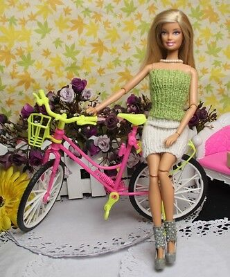 lovely High quality Original fashion bike for Barbie Doll z48