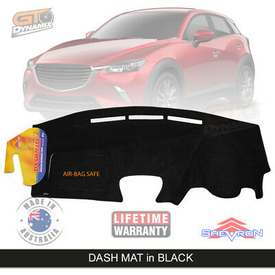DASH MAT MAZDA CX-3 Neo Maxx 01/2015-ON in BLACK DM1384 CX3