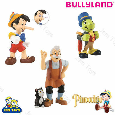 Disney Pinocchio Figures Figurines Toy Cake Toppers Bullyland Jiminy Cricket