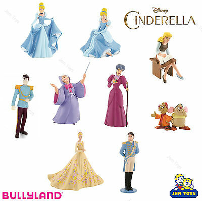 Disney Princess Cinderella Figures Figurines Toy Cake Toppers Bullyland Charming