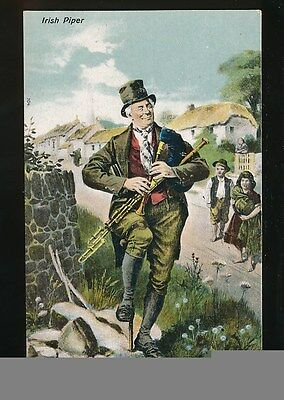 Ireland Irish Piper c1900/10s? PPC