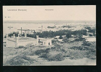 Portugal East Africa Mozambique LOURENCO MARQUES Panorama c1920/30s? PPC