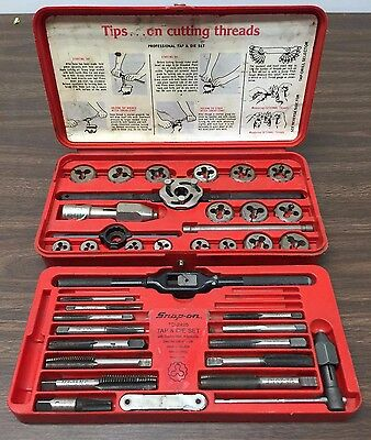 Snap On Tap & Die Set TD-2425