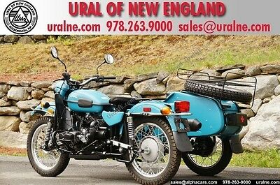 Ural : Adventure Patrol 2WD Pacific Blue Custom Limited Edition! Adventure Package! Hand Shifter! Financing & Trades!