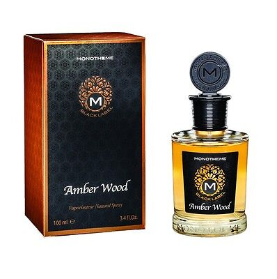 Monotheme Black Label Amber Wood 100Ml Spray Eau De Parfum