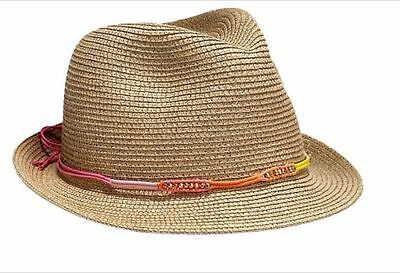 Lilly Pulitzer for Target Straw Fedora Nosie Posey NWT!!