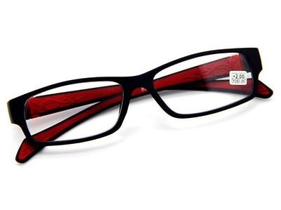 Fashion CONTRAST COLOR STYLE Embossing Reading Glasses Presbyopic Glasses Reader