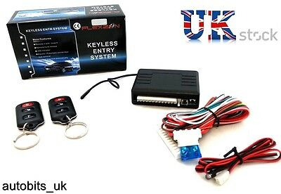 Universal Car Remote Central Locking Kit+ Window Roll Up Trunk Release 097