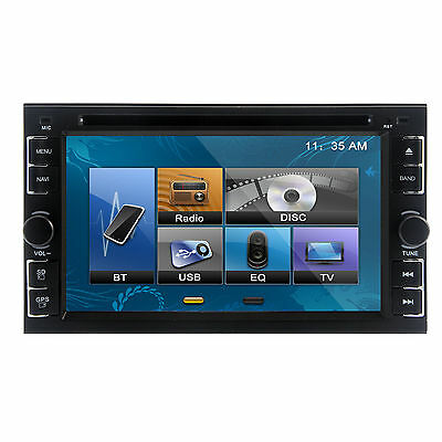 "LENS 6.2"" 2DIN Car CD DVD  Player Bluetooth iPod Touch Screen Stereo Radio"