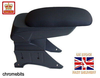 Black Sliding Armrest Centre Console Vw Bora Caddy Fox Jetta Lupo Sharan Vento