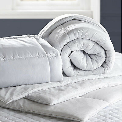 Luxury Hollowfibre Duvet Quilt - 4.5 9 10.5 13.5 15 Tog - All Sizes