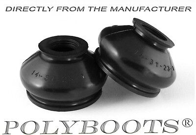 2x Polyboots Ball Joint Dust Boots 14x31x23 mm Polyurethane Covers UNIVERSAL