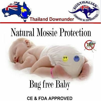 Bug  Repellant Patch  Sleep Well Protection  Mozzie Off X 60  Stop Mossies.